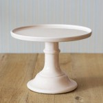 Miss Étoile, Cake Stand in Pfirsich
