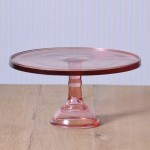 Baker Cake Stand in Pink