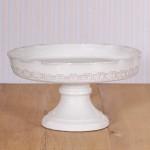 Virginia Casa Linea Galestro, Kuchenschale in Weiß
