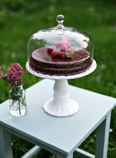 Eine wiener sachertorte cake stands bei home of cake - Wiener wohnsinn ...