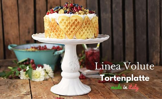 Tortenplatte Linea Volute von Virginia Casa