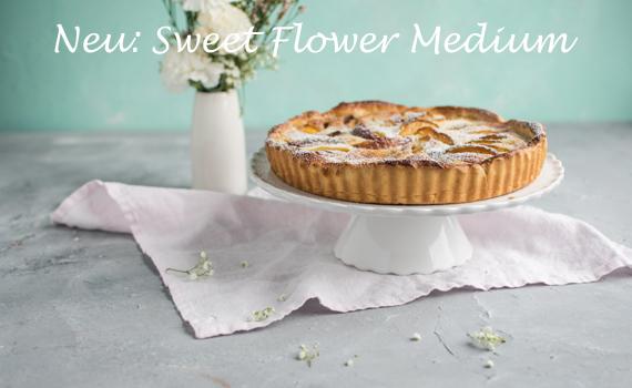 Sweet Flower Medium in Weiß