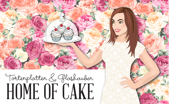 Tortenplatten und Glashauben von Home of Cake