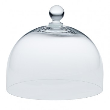 Glashaube - Glass Dome Medium, rund