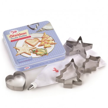 Tala Retro, Christmas Cookie Cutters Set