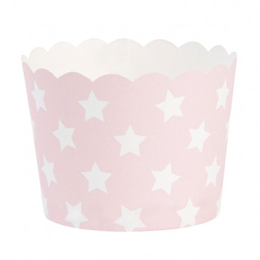 Miss Étoile, Muffinförmchen Sterne-Rosa