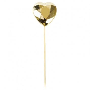 Miss Étoile, Kuchendeko Herz Diamant Gold