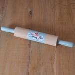 Tala Retro, Holz-Teigrolle mit Griffe in Pastellblau