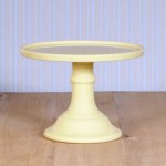 Miss Étoile, Cake Stand in Pastellgelb