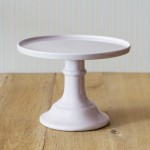 Miss Étoile, Cake Stand in Lavendel