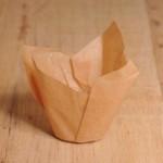 Tulpen Muffinförmchen Karamell