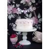 Cake Stand Belle Époque Pastellgrün, Imagefoto von Frau Herzblut