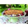 Tortenplatte Sweet Flower in Pastellgrün, Imagefoto